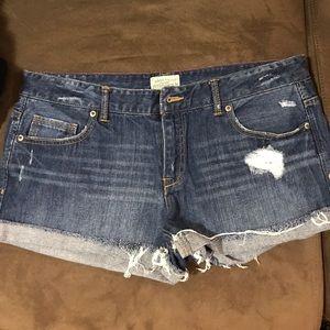 Aeropostale juniors jean shorts size 11/12